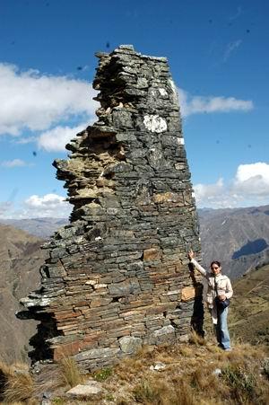 Ruinas en Huánuco